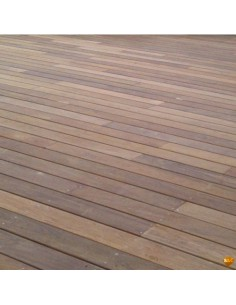 Lame de terrasse en IPE 21 x 145 - 2 faces lisses