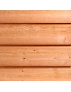 Bardage Red Cedar Channel Siding