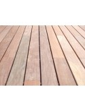 Lame de terrasse Cumaru 21 x 145 - 2 faces lisses