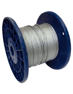 Bobine de câble inox 1,5mm pour fixer les filets de lutte contre les oiseaux