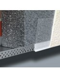 Profilé de départ en aluminium pour ITE