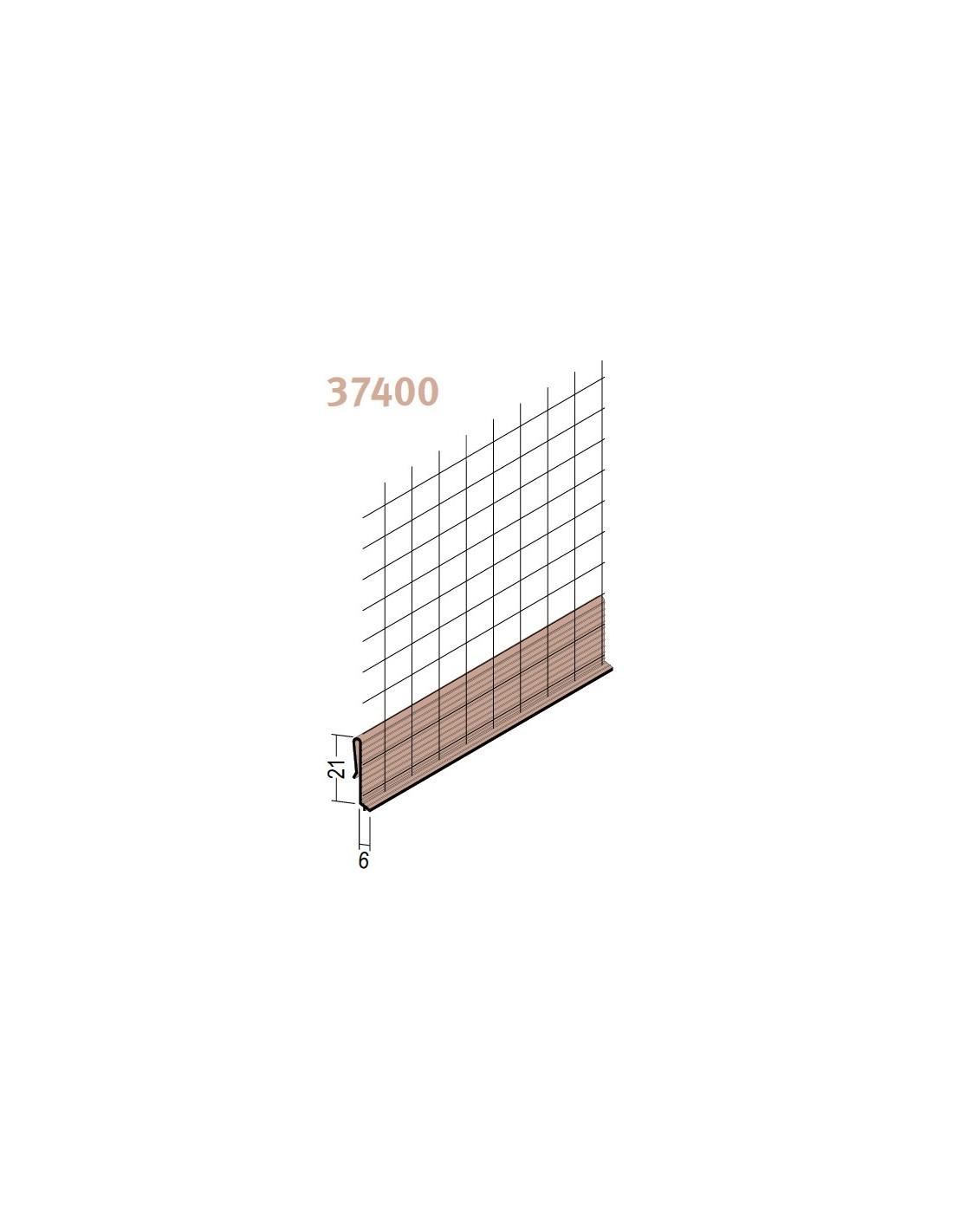Nez de rail de d part pour isolation par l 39 ext rieure - Profile goutte d eau ...