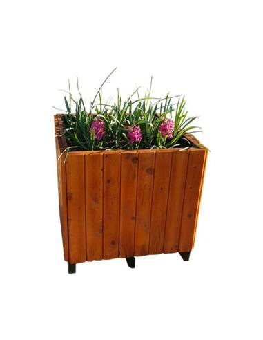 Jardinière en bois