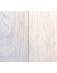 Lame de parquet en chêne de Malaisie Huilé blanc