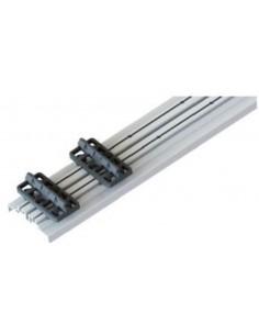 Rail Aluminium pour recouvrir les lambourdes bois avec fixation clips juan