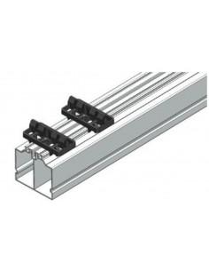 Rail Aluminium porteur avec fixation clips juan