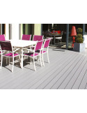 Lame de terrasse composite PVC / Chanvre - CHAUSEY