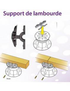 Support de lambourde pour plots Buzon