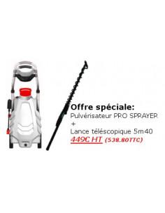 Offre Pulvérisateur + Rallonge télescopique de 5m40