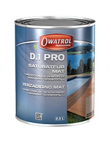 D.1 PRO - Saturateurs pour bois exotiques